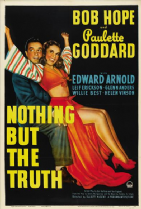 Nothing But the Truth 1941 DVD - Bob Hope / Paulette Goddard